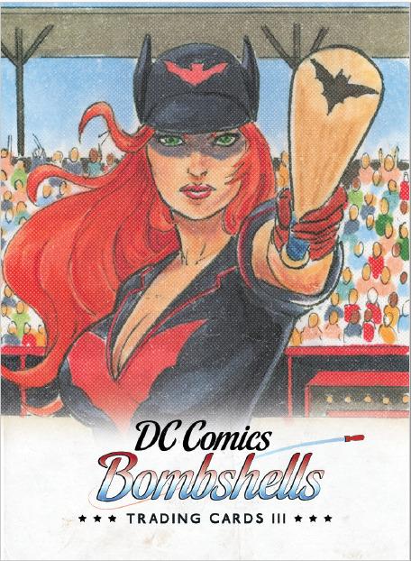 DC Bombshells Trading Card III Promo Card P1