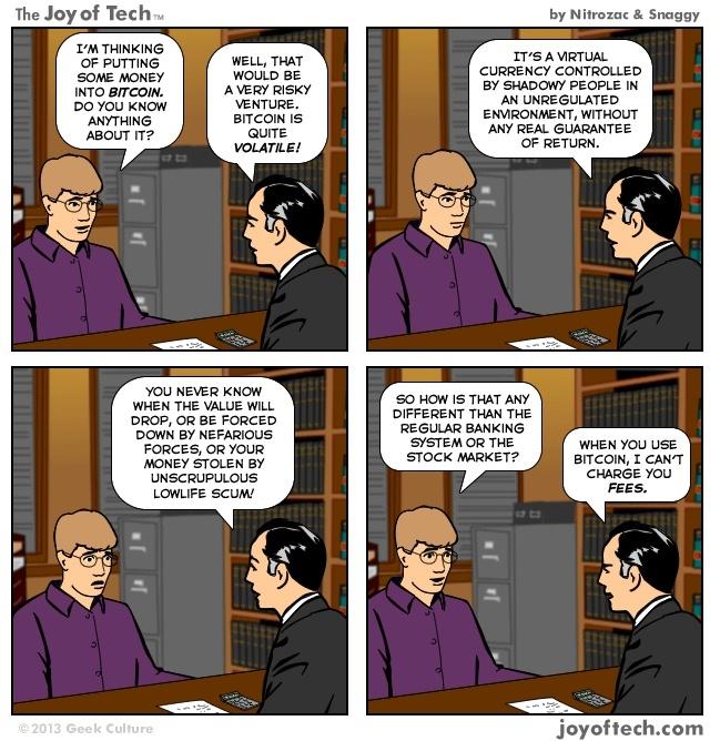 Bitcoin and crypto meme #9.