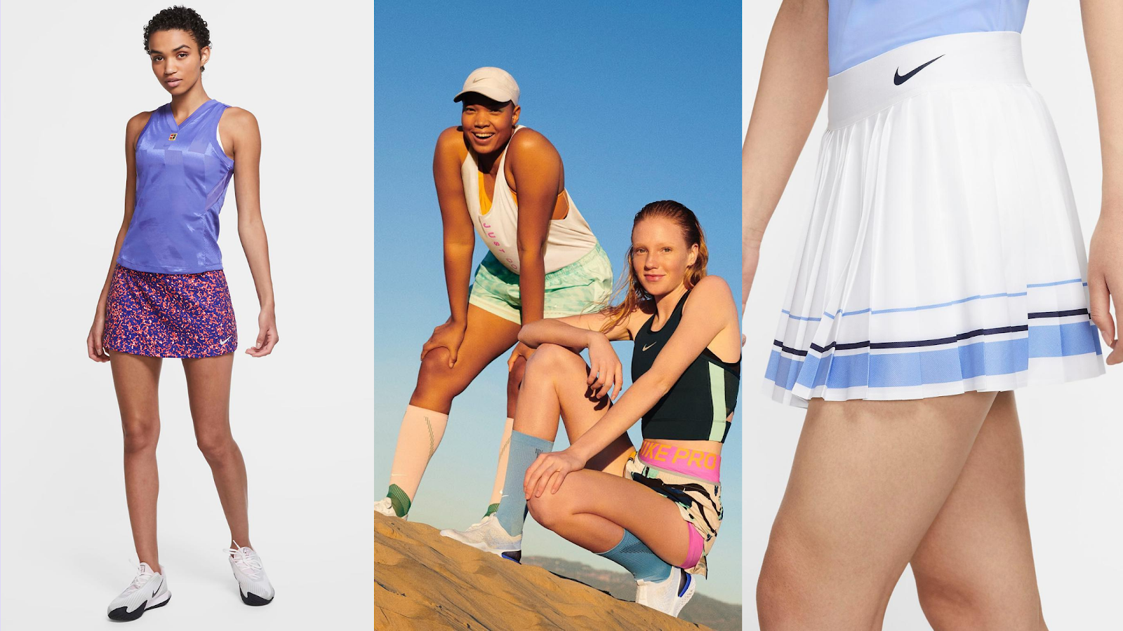 Nike tennis skirts for sale