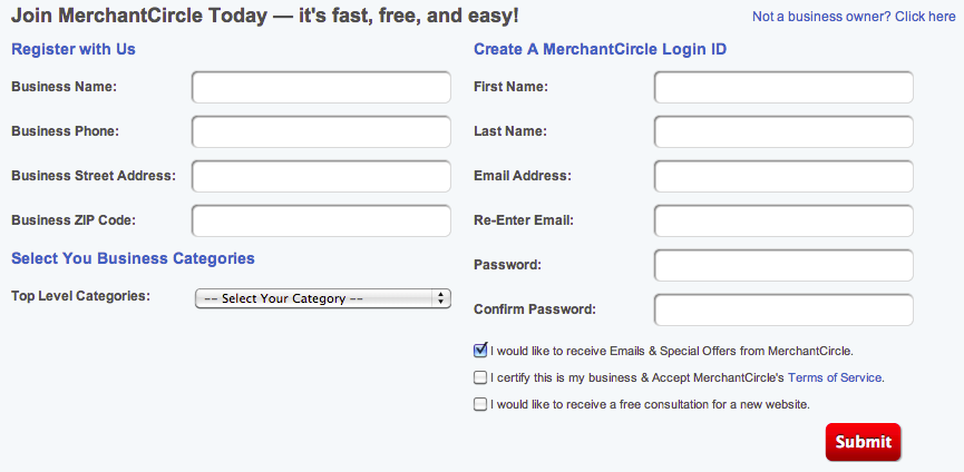MerchantCircle.com_Register Page