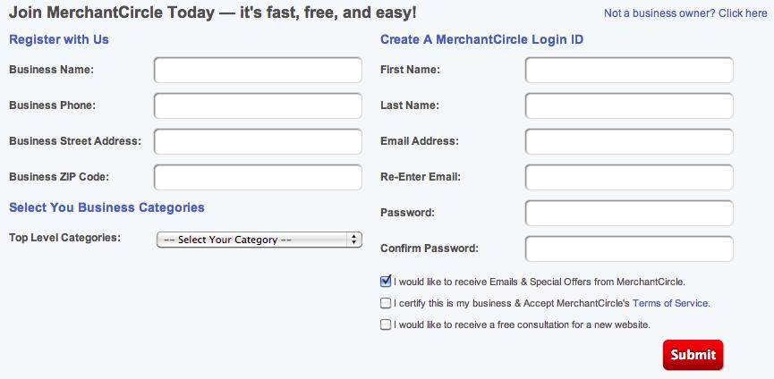 MerchantCircle.com_Register Page