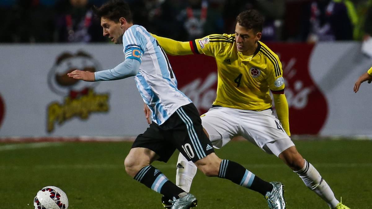 Колумбия обыграла Аргентину на групповом этапе Кубка Америки