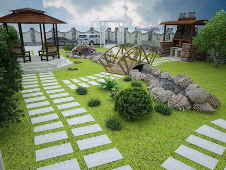 طراحی فضای سبز در رشت