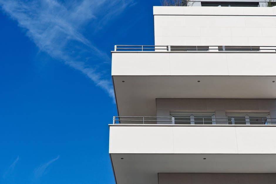 apartment, architecture, balconies