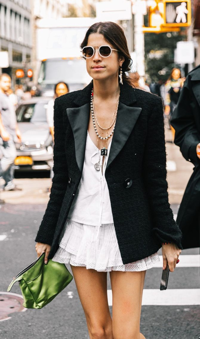 trendy looks, black and white combinations 3