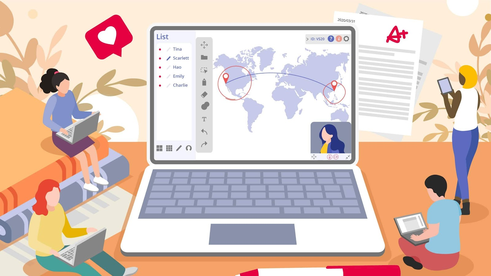 Virtual Classroom: The Future of Distance Learning | ViewSonic Library