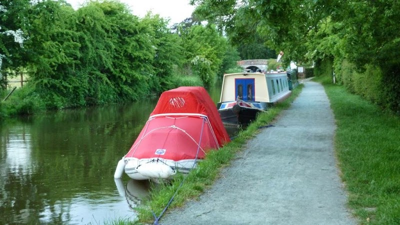 Moored for the night