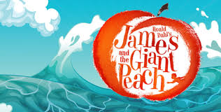 Image result for james & the giant peach musical logo