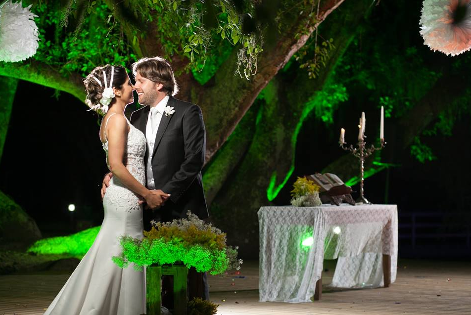 Fotos de casamento ao ar livre em Porto Alegre- Sítio da Figueira