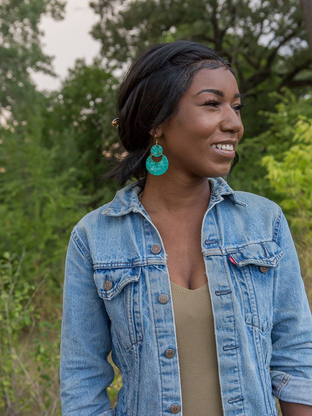 Turquoise Sustainable Earrings