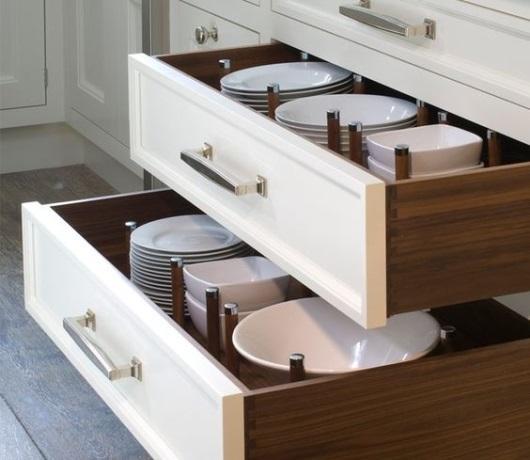 Dónde guardar la vajilla en la cocina • Línea 3 Cocinas