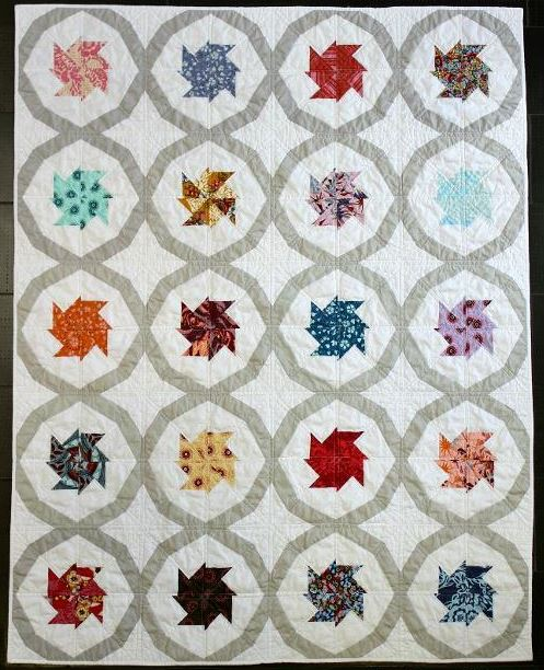 Tilt-a-Whirl Quilt - Pattern available