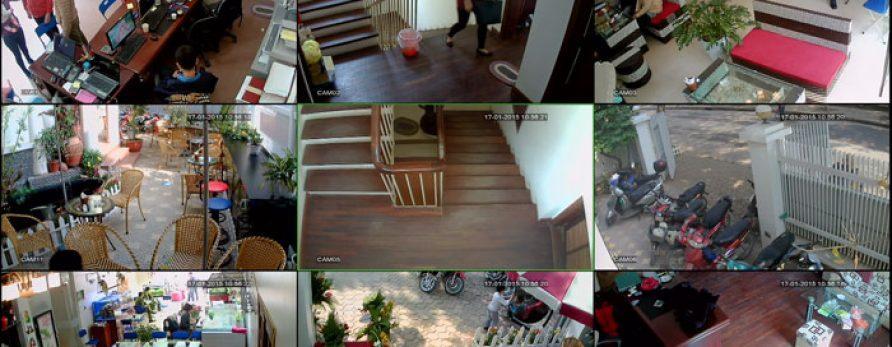 Nên lựa chọn loại camera giám sát nào cho quán café