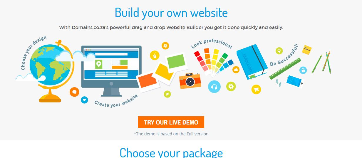 domains sa homepage