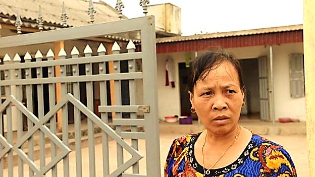 Bà Nguyễn Thị Vy, mẹ kế của Đoàn Thị Hương