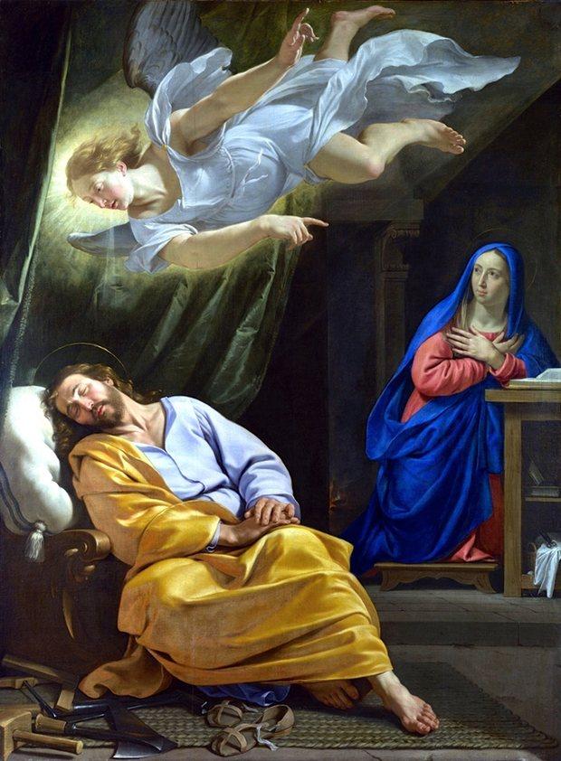 The Dream of St Joseph, Philippe de Champaigne, National Gallery, London.jpeg