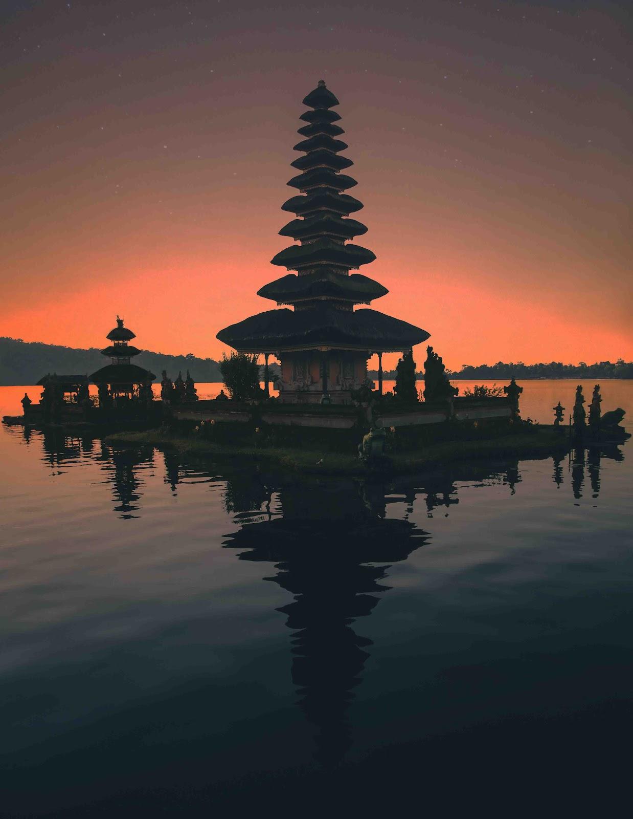 Nyepi or silence day in Bali