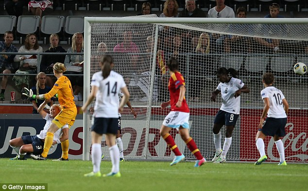 Women's Euro 2013: England 2 Spain 3 - Match report | Daily Mail ...