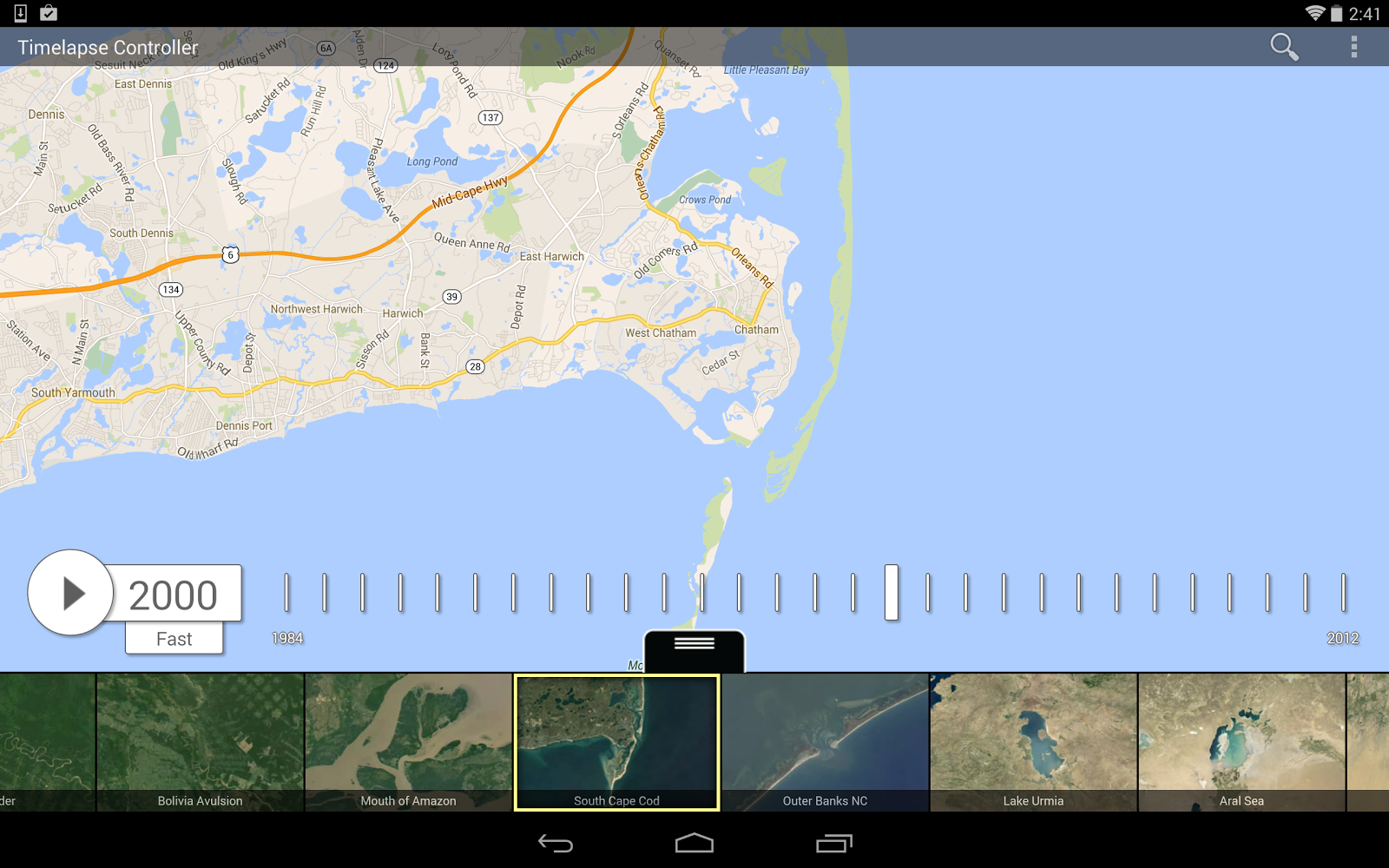 World Machine Google Maps. Android Controller  Google Earth Timelapse Hyperwall GigaPan