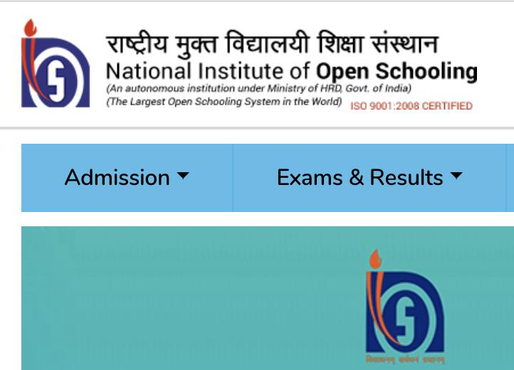 NIOS Official web Portal
