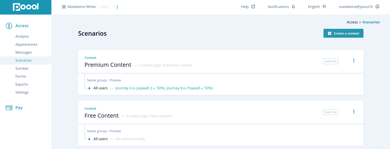 Paywalls for Podcasts, Music and Audio Streaming Websites