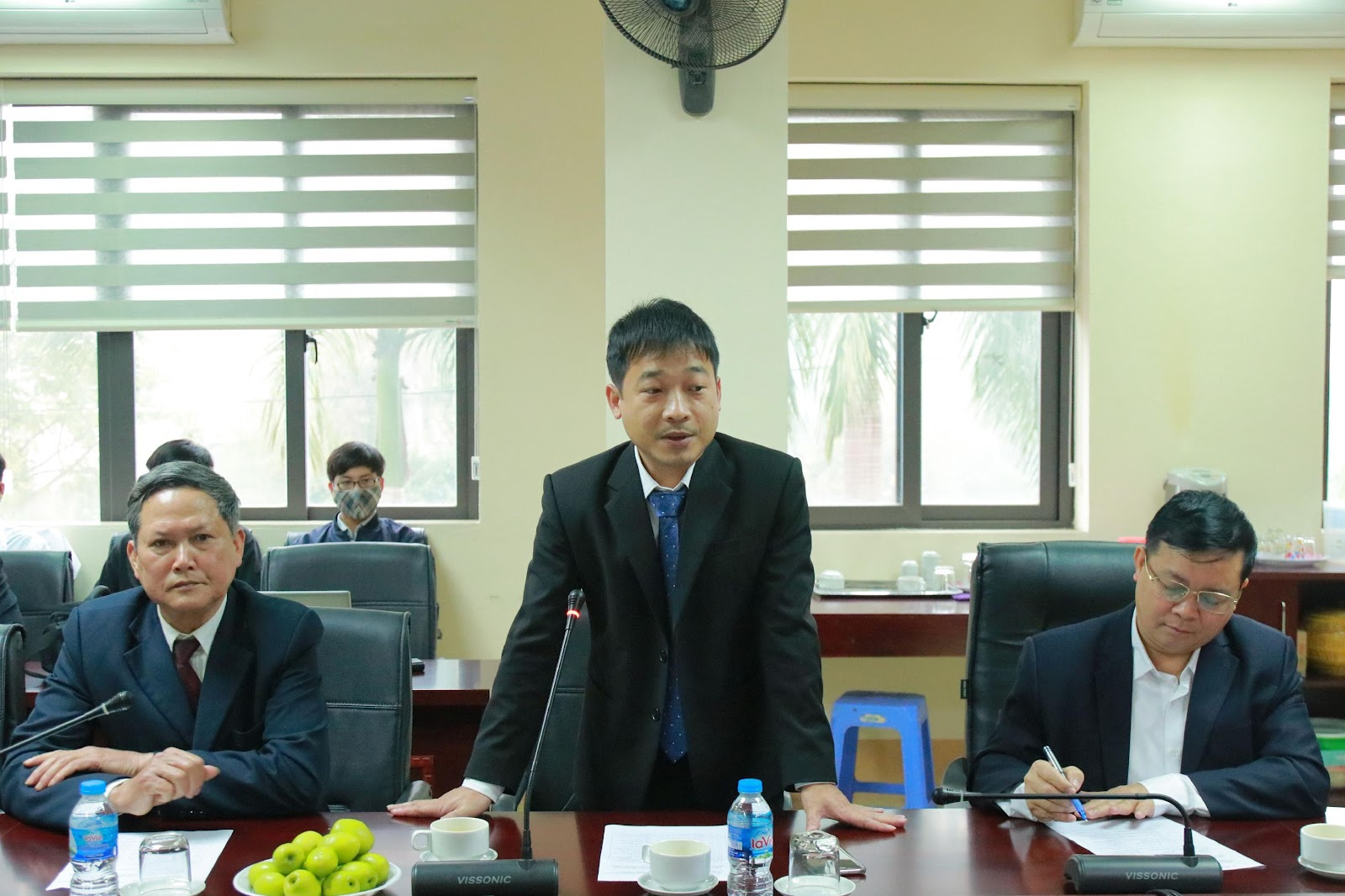 PGS.TS Phùng Trung Nghĩa phát biểu khai mạc chương trình