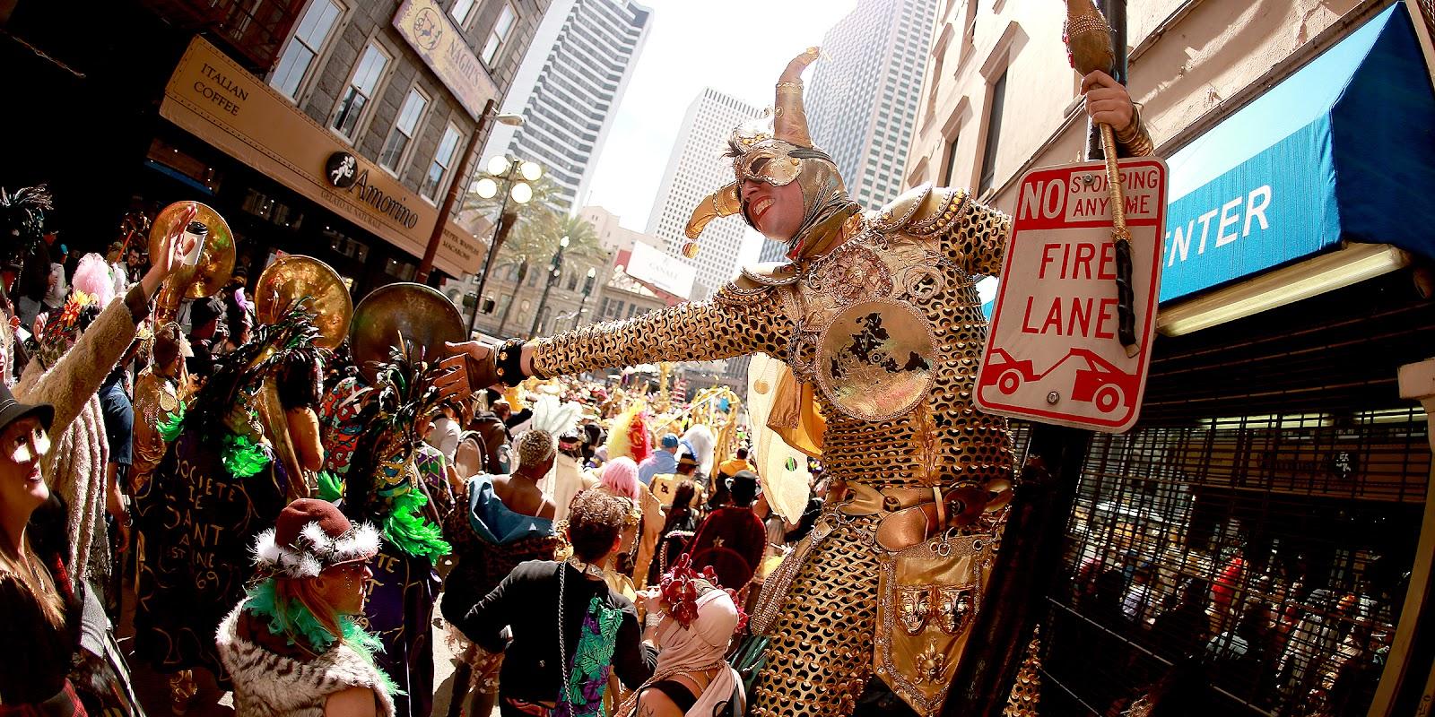 Carnaval americano: Mardi Gras