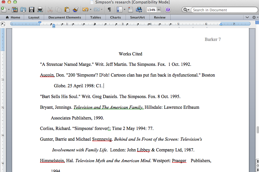 I need a research paper with a works cited page . help?