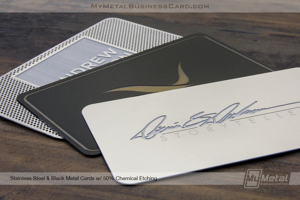 My Metal Business Card |Sz4X4Ol