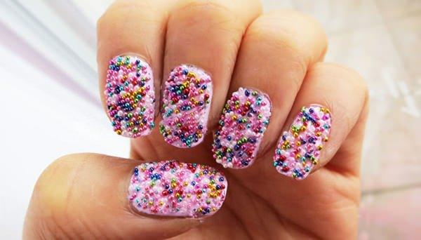 cute nail designs creem (23)