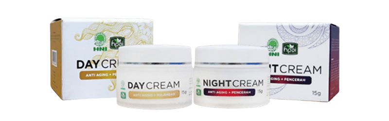 Day Cream dan Night Cream HNI HPAI