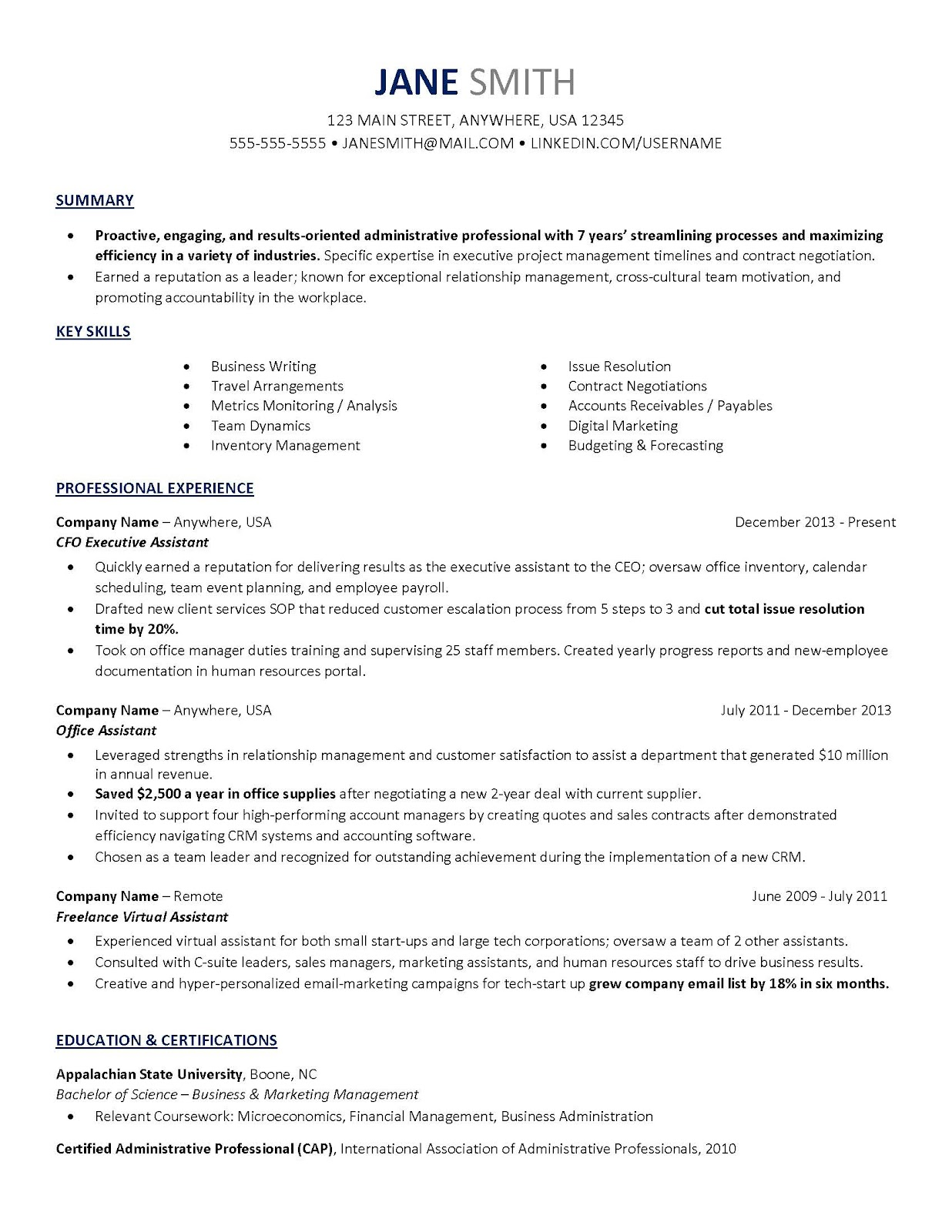 writing a professional resume made easy ezcater
