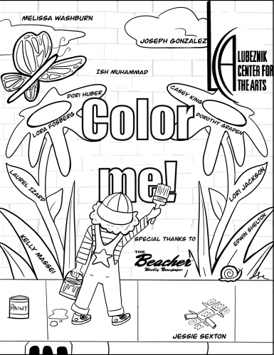 Lubeznik Center for the Arts coloring book