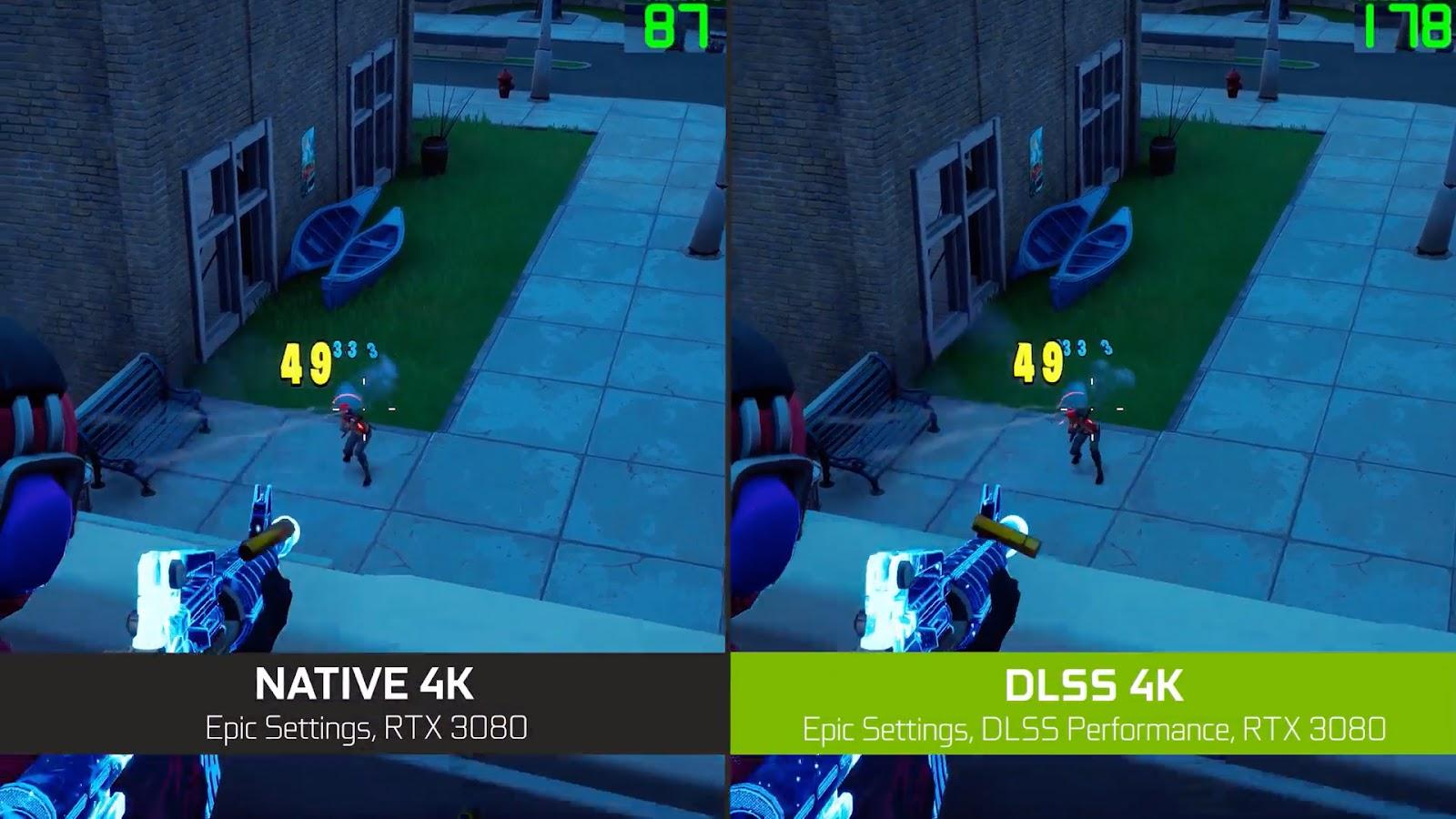 Unreal Engine'de Dahili Artık DLSS Desteğine Sahip