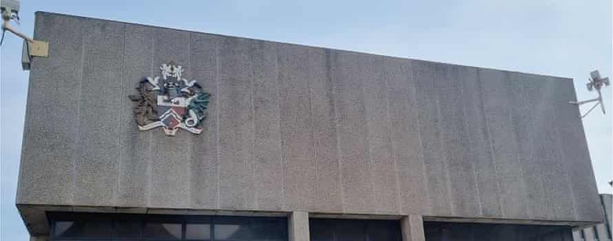 The Darlington council old logo as it currently looks.