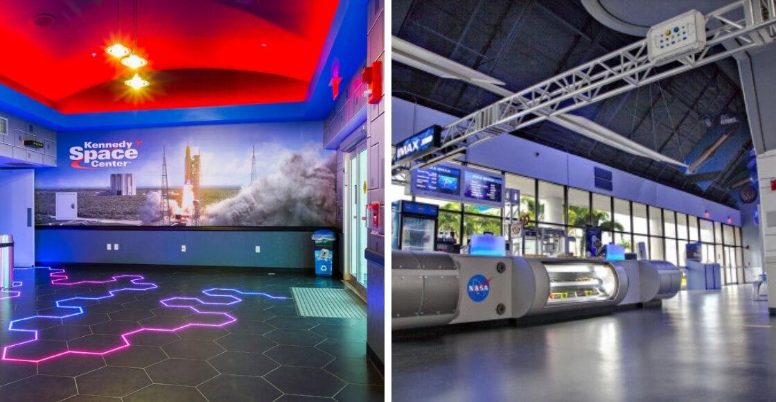 DesignShop Custom Museum Exhibit Client Kennedy Space Center