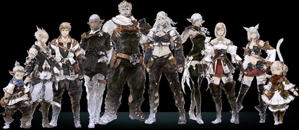 Image result for Final Fantasy XIV race