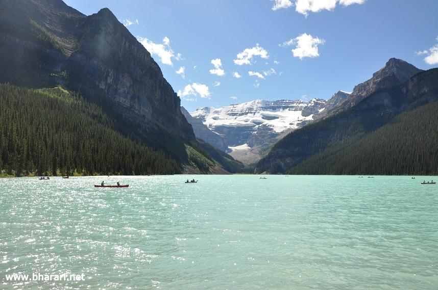 Lake Louise with clear skies (3rd visit)