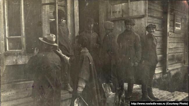 "Комиссия в коммуне ""Икор"". 1929 год"