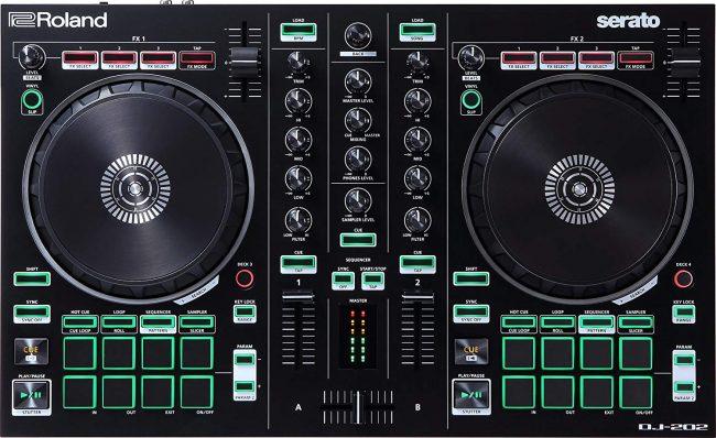Matériel DJ débutant Contrôleur DJ Roland Serato