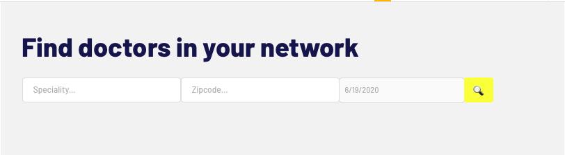 Bubble no code Zocdoc clone tutorial search bar navigation