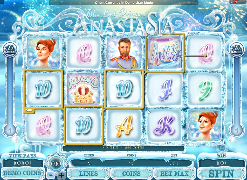 The Lost Princess Anastasia Slots Game Review
