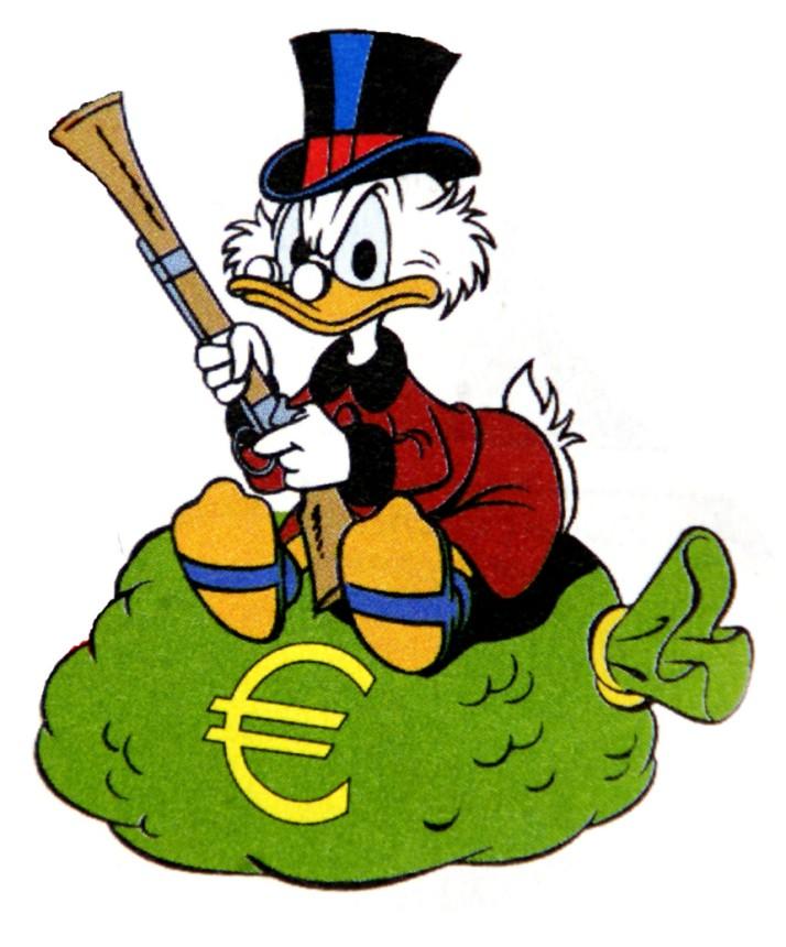 Image result for scrooge mcduck gun