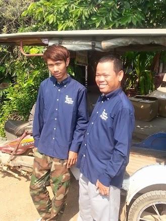 《参考》カンボジア・バッタンバン州の映画配達人親子