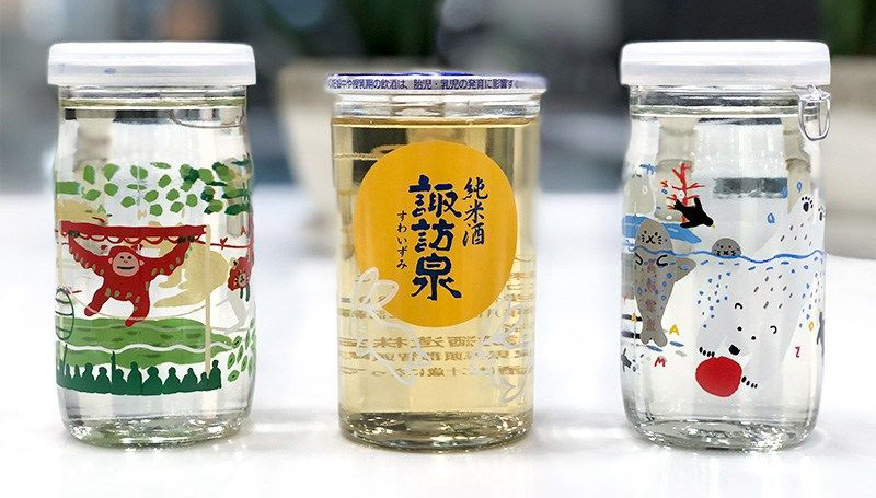 Sake cups and cans alochol you can find in convenience stores in Japan