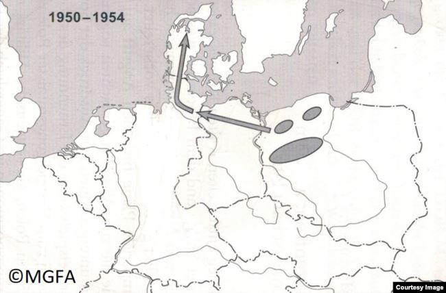 Оперативный план вторжения Войска Польского в Данию через ФРГ, свидетельство генерала Яна Држевецкого
