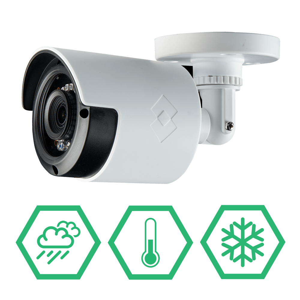 IP66 weatherproof security cameras