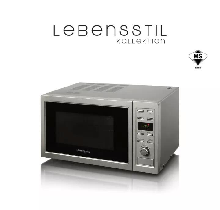Lebensstil Kollektion Combi Microwave 23L Source: Lazada