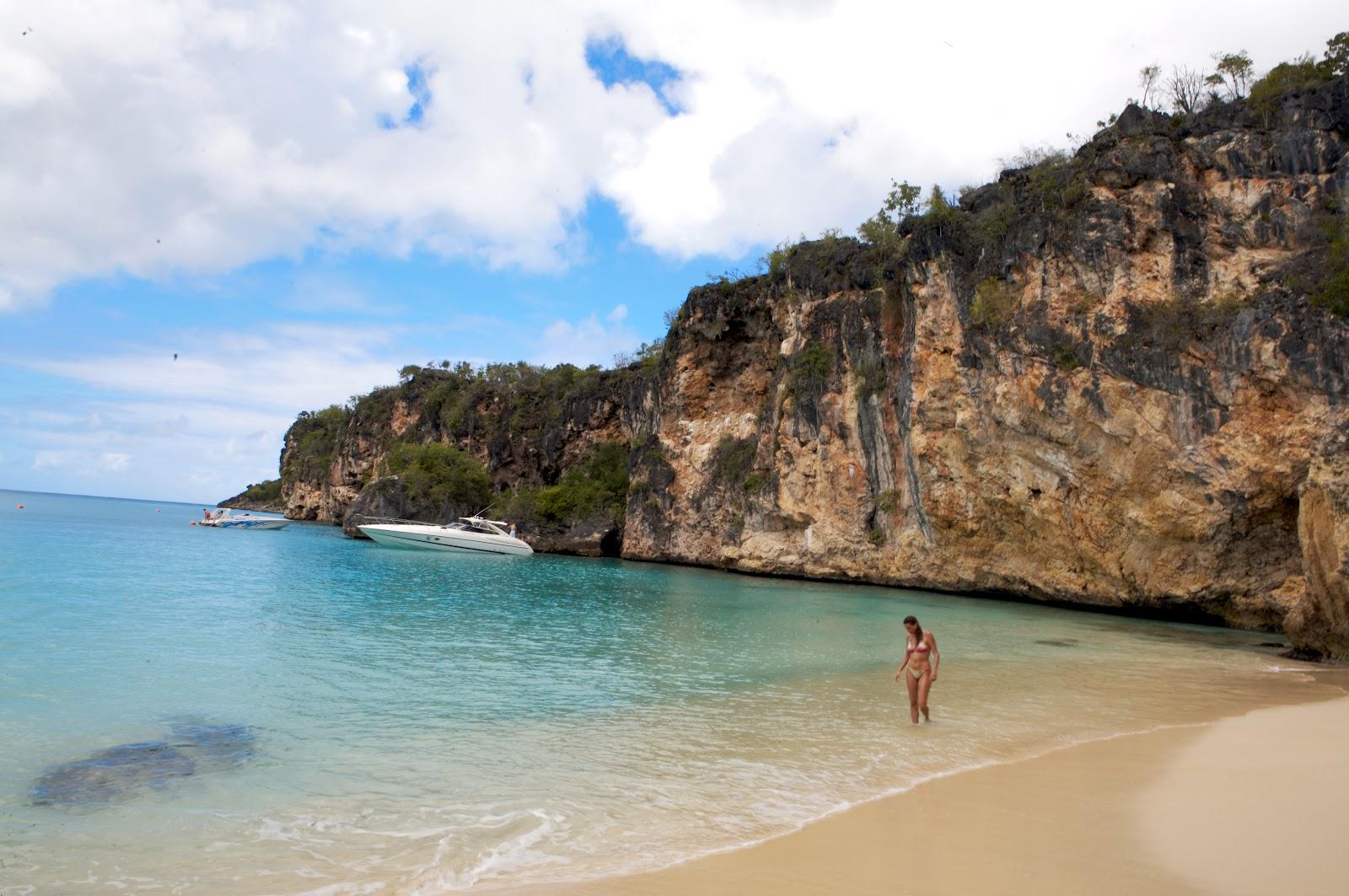 woman on white sandy beach