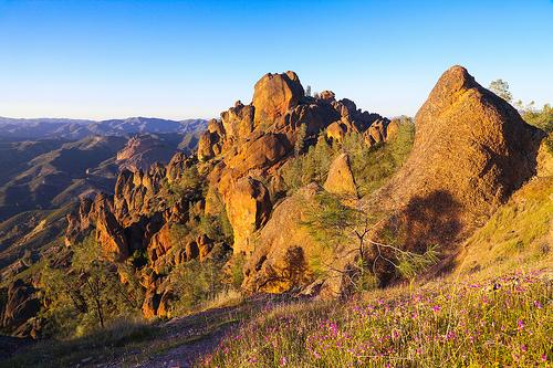 Afternoon Sun at Pinnacles National Park